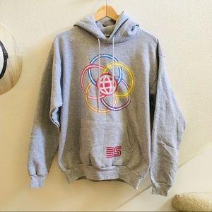Disney Parks Epcot 35 years hoodie sweatshirt M